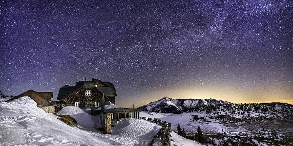 Ottohaus im Winter