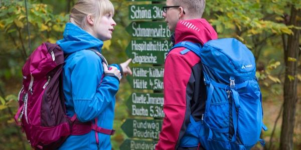 Wanderer in der Dahlener Heide © T. Bichler / www.best-of-wandern.de
