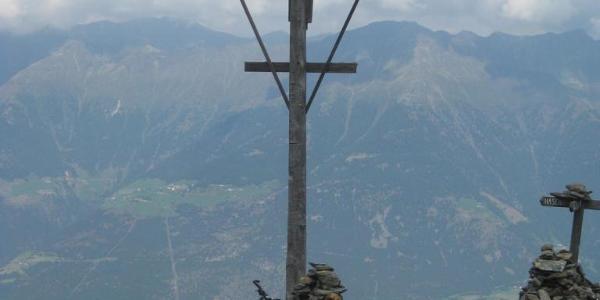 Wetterkreuz in 2436 m