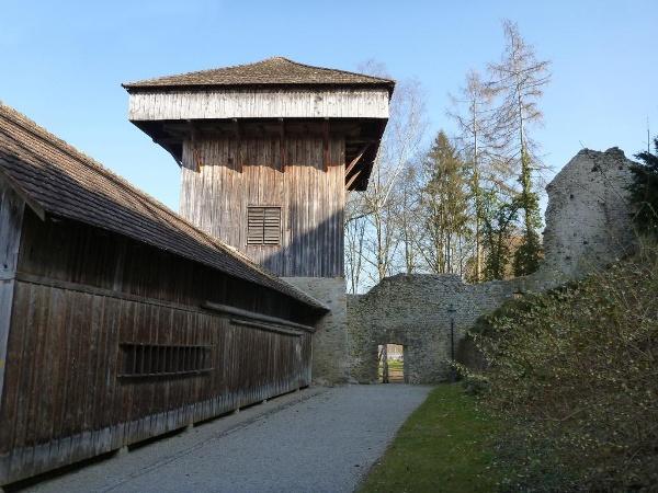 Der Hänkiturm in Diessenhofen