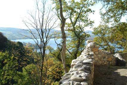Aussicht von der Ruine Neuburg