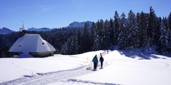 Winter in Schwarzenberg/Bödele