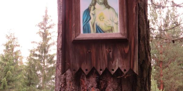 Baummarterl am Ende des Magdalengrottenwegs