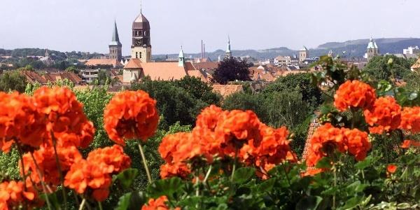 Panoramablick über Osnabrück