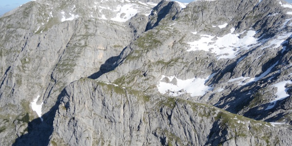 Eine Welt aus Fels ist das Tennengebirge - Blick vom Hochthron-Gipfel.