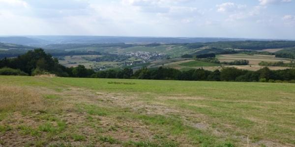 Panorama in der Nähe des Karlskopfes