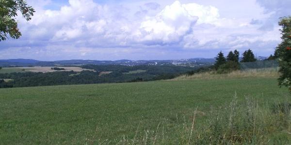 Blick von der Winnenbergerhöhe nach Idar-Oberstein