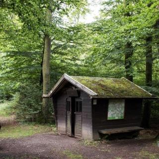 Schutzhütte am Brotpfad