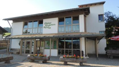 The mountain farmers museum in Diepolz