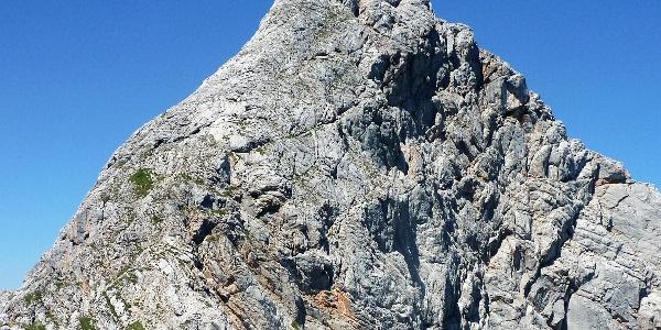 Die Südseite - An und Abstiegseite