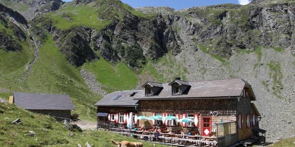 Die Keinprechthütte im Obertal