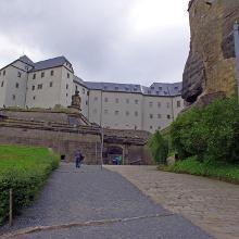 Festung Königstein - Eingang -