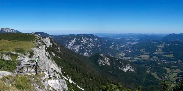 Ottohaus Aussichtswarte (Copyright: Wiener Alpen, Foto: Franz Zwickl)