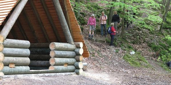Schutzhütte in der Altlayer Schweiz
