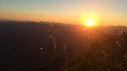 Sonnenaufgang Kanisfluh