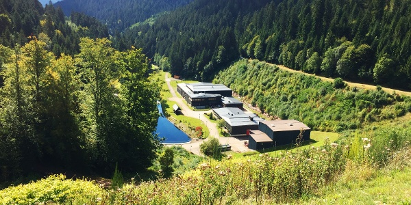Kinzigtalsperre Kraftwerk und Verwaltungsgebäude