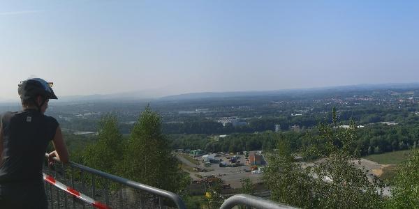 Panoramabild vom Piesberg