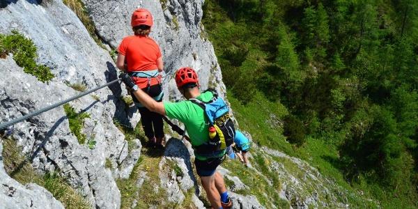 Schützensteig   Jenner Klettersteig