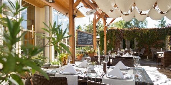 Terrasse Garten-Hotel Ochensberger
