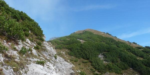 Der Kuegrat - höchster Punkt der Wanderung