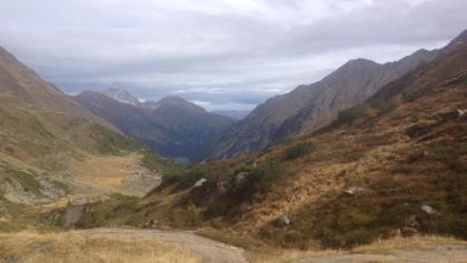 Aussicht hinunter ins Tal