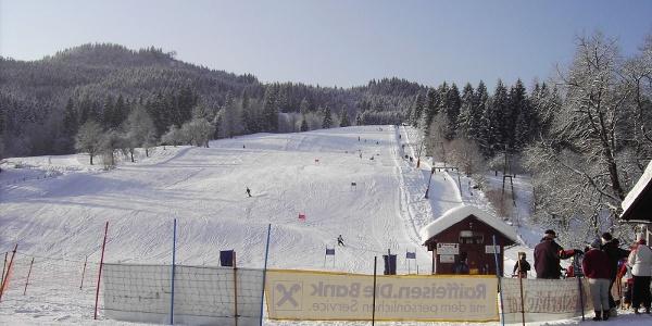 Das Skigebiet Riesenlehen (Copyright: Walter Kern)
