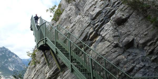 Treppen am Busatte Park- Tempesta Weg