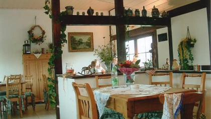 Bauernhof Cafe Clemenshof Innen