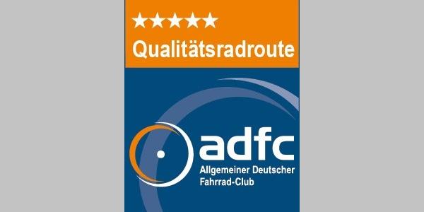 ADFC-Qualitätsradroute mit 5 Sternen