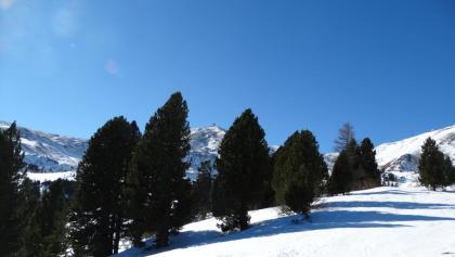 Aufstieg mit Blick auf den Zirbitzkogel