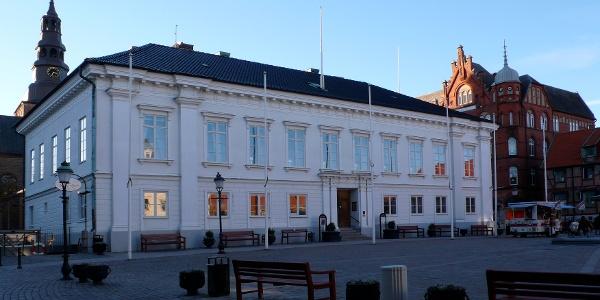 Das Rathaus von Ystad