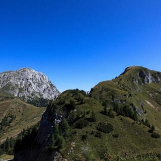 Il crestone ovest del monte della Piana
