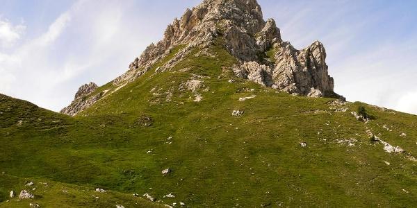 Forcella Franza e l'omonimo monte