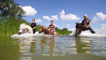 Baden in den Pferdeschwemmen am Arendsee