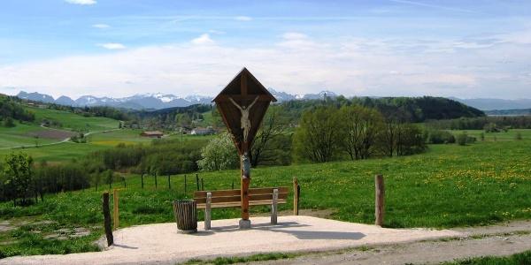 Panoramablick von Ströbing