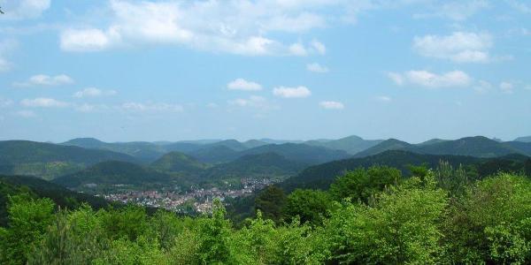 Aussichtspunkt am Jungwald