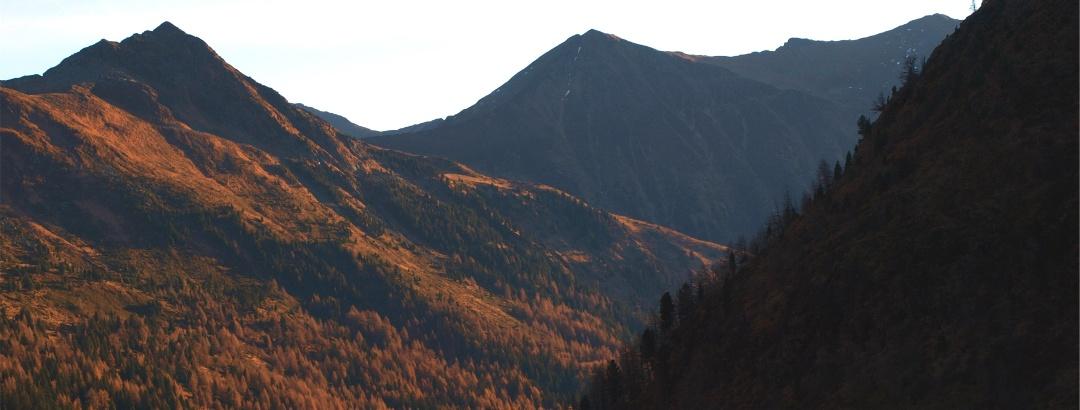 Nageleck und Hornfeldspitze vom Katschbachtal