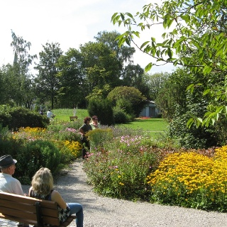Schwesterngarten Blick nach Westen