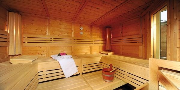 Quality Hotel Bielefeld: Sauna