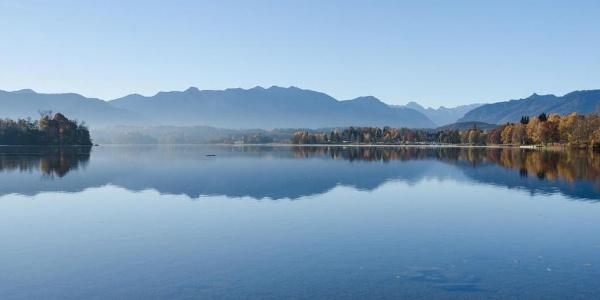 Wanderung Kleine Staffelsee-Schleife - Herbstlicher Staffelsee