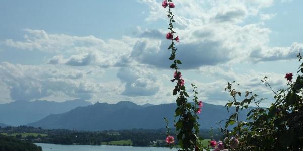 Fernwanderweg - Meditationsweg, 3. Etappe - Blick vom Mesnerhof
