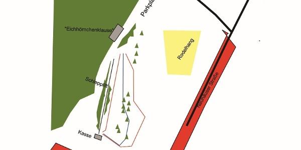 Pistenplan Schwedenschanze