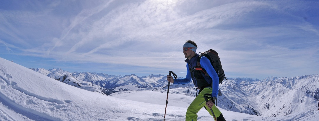 Schafsiedel, die letzten Meter vor dem Gipfel