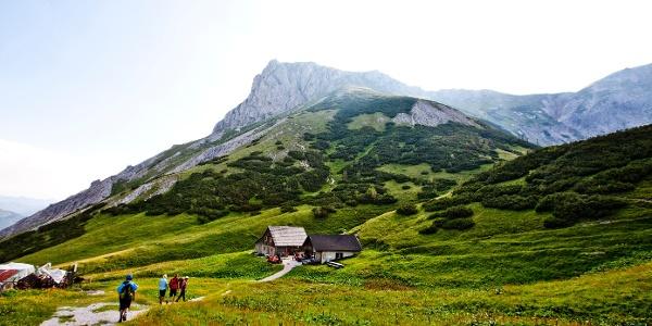 Grasserhütte auf der Fölzalm