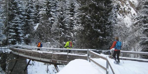 Die Brücke bei Cuflons