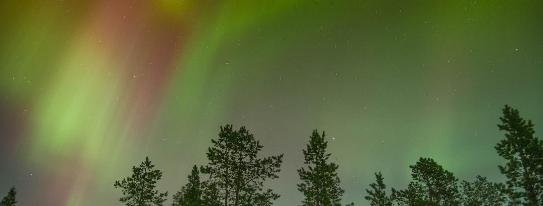 Northern Lights above Sweden