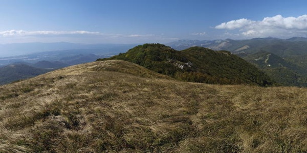 Panorama s vrha Tuhobića