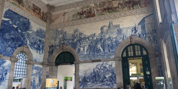 Hauptbahnhof in Porto