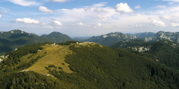 Mali Rajinac i Rožanski kukovi s Veliko Zavižana