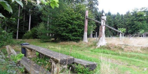 Rastplatz im Wildpark